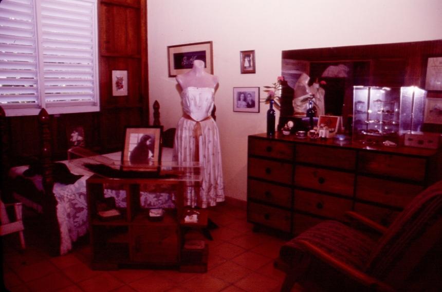 Habitación de María Teresa Mirabal