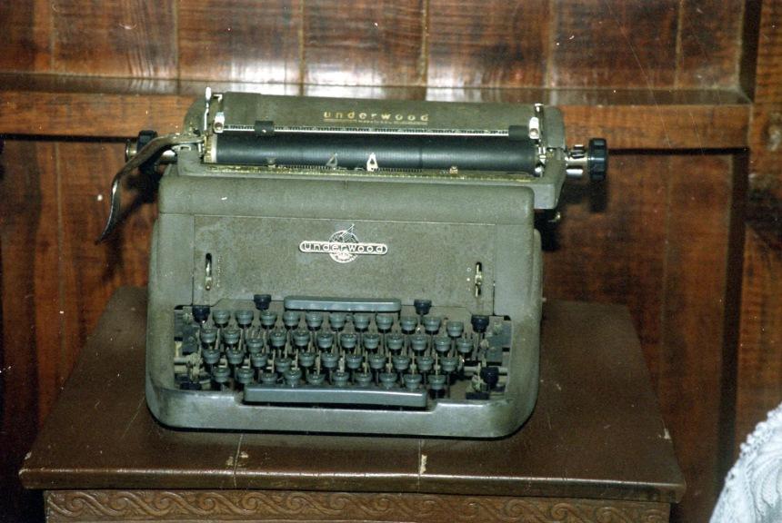 Máquina de escribir de Minerva Mirabal. Museo Hermanas Mirabal