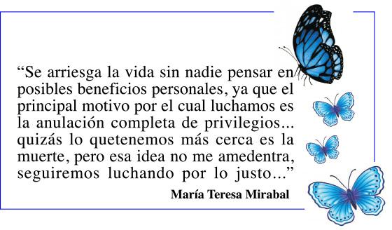 Las Mirabal Siempre Vivas Jackie Viteri