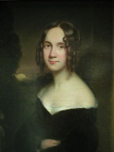 """Sarah Josepha Hale, """"Madre de Acción de Gracias"""". También autora de la canción infantil """"Mary Had a Little Lamb""""."""