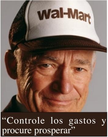 Una de las 10 reglas de éxito de Sam Walton, fundador de Wal-Mart.