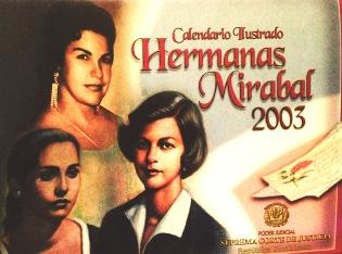 Calendario Hermanas Mirabal 2003