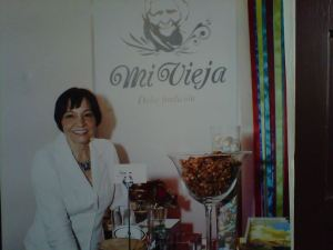 Josefina Mieses de Calderón, propietaria Mi Vieja