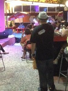 Pavel Núñez disfrutando del concierto de Vlieg