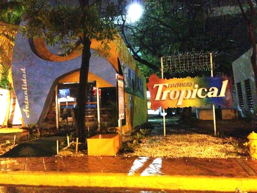 Pabellón de Pinturas Tropical