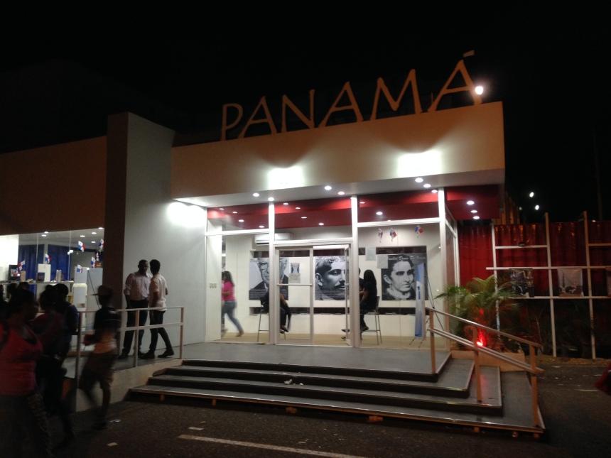 Pabellón de Panamá, país invitado de honor a la XVII Feria Internacional del Libro