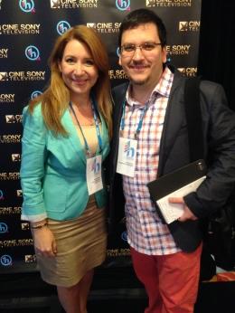 Con Manny Ruiz, fundador de Hispanicize