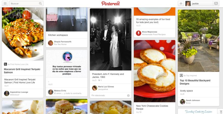 Tablero Pinterest