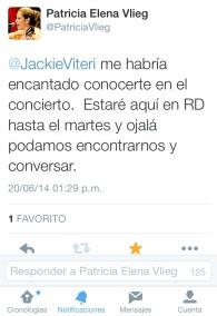 Tweet Patricia