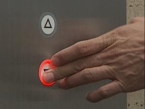 Botón elevador