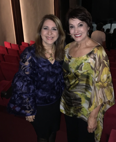 Con la cantante Cecilia García