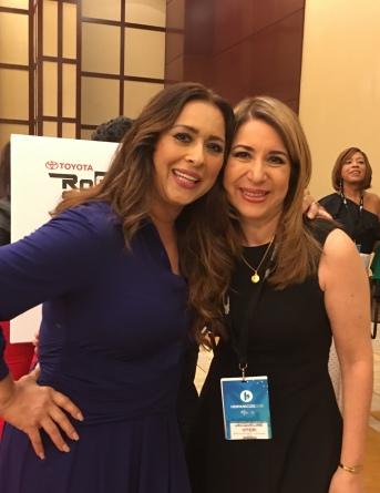 Con Neida Sandoval