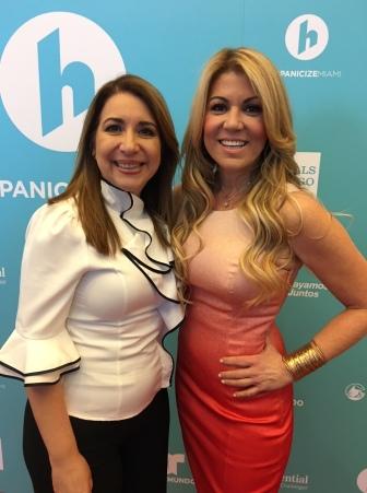 Con María Marín