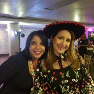 Con Melba Jiménez
