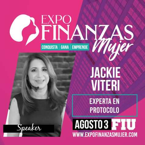 Expo Finanzas Mujer Viteri Speaker