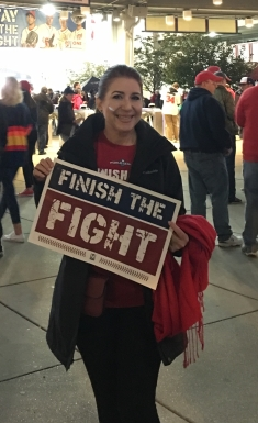"""Finish the Fight"" Go Nats"